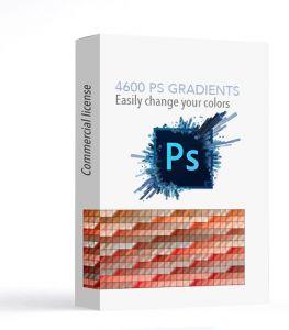 4600 Photoshop Gradients kostenlos downloaden
