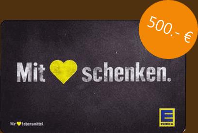 500 Euro Edeka Gutschein
