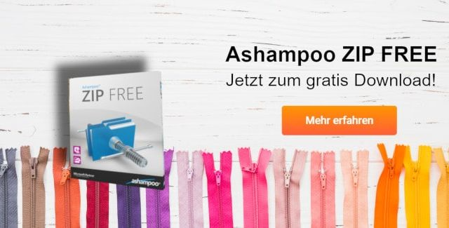 Ashampoo ZIP FREE gratis downloaden
