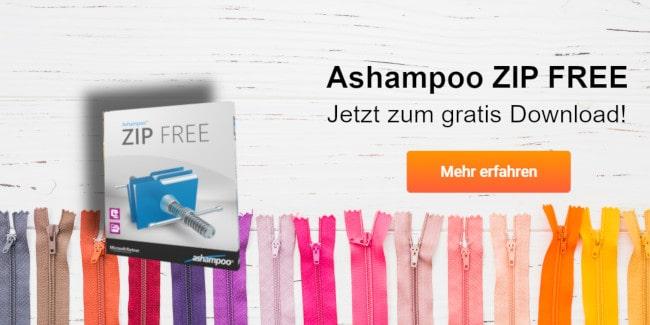 Ashampoo ZIP FREE gratis downloaden