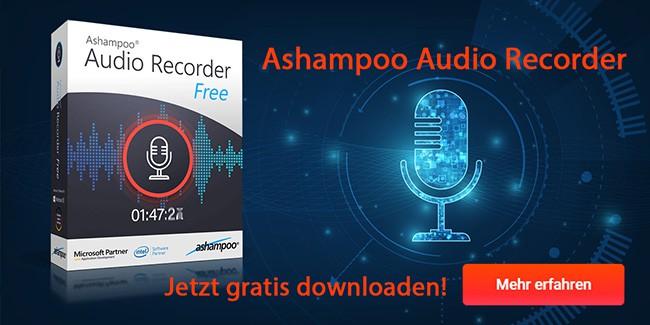 Ashampoo Audio Recorder Free Download