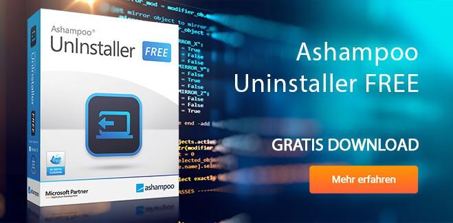 Ashampoo Uninstaller FREE gratis downloaden