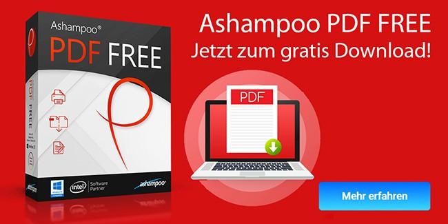 Ashampoo PDF FREE gratis