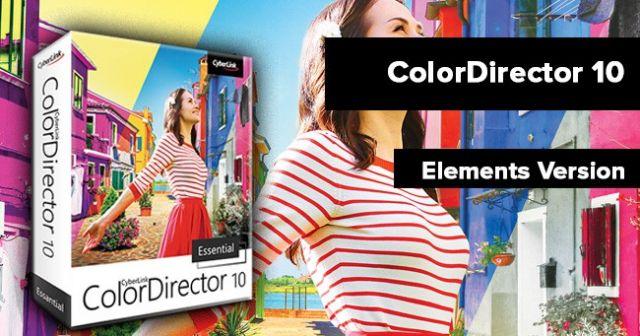 ColorDirector: jetzt kostenlose Software von Cyberlink sichern