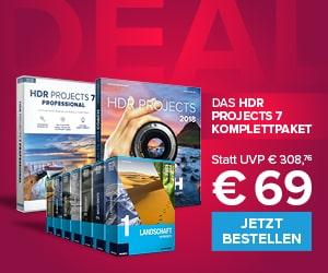 HDR projects Vorteilspaket