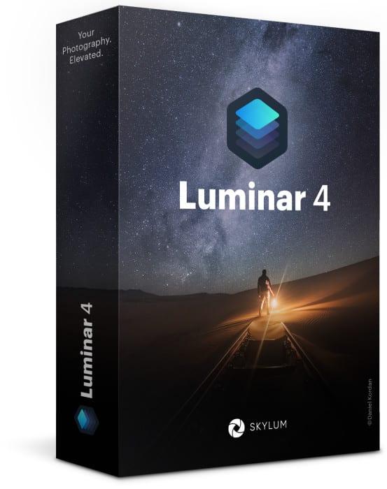 Luminar 4 zum Vorteilspreis sichern