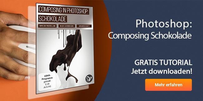 Photoshop Composing Schokolade gratis Tutorial downloaden