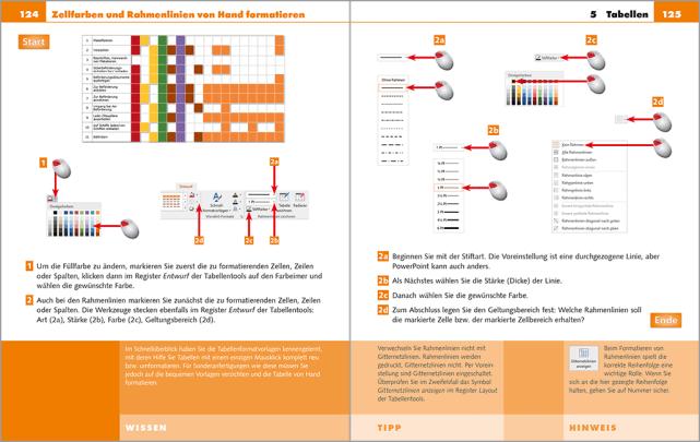 PowerPoint Software gratis Farben