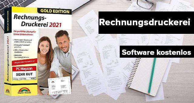 Rechnungsdruckerei Software Gold kostenlos