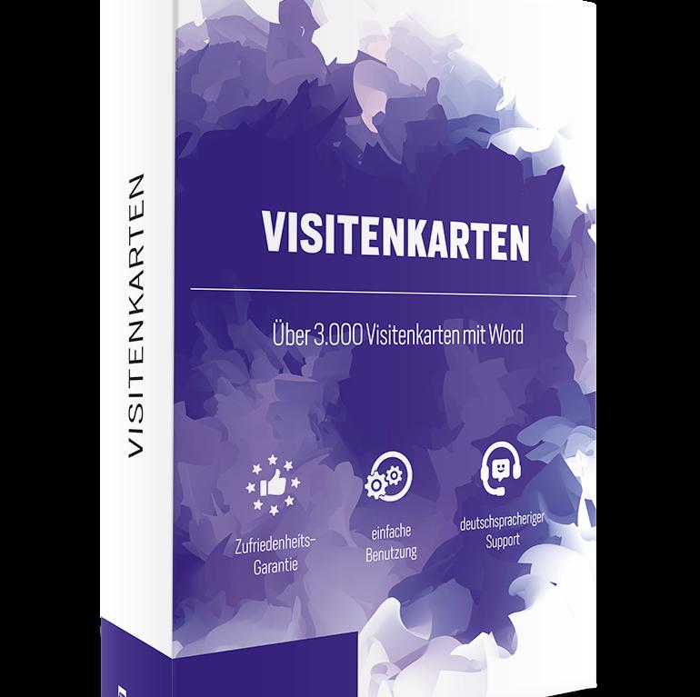 3.000 Visitenkarten Vorlagenpaket