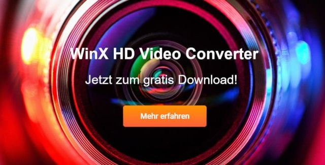 WinX HD Video Converter jetzt gratis downloaden