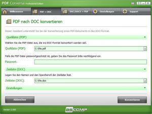 ASCOMP PDF Conversa jetzt gewinnen
