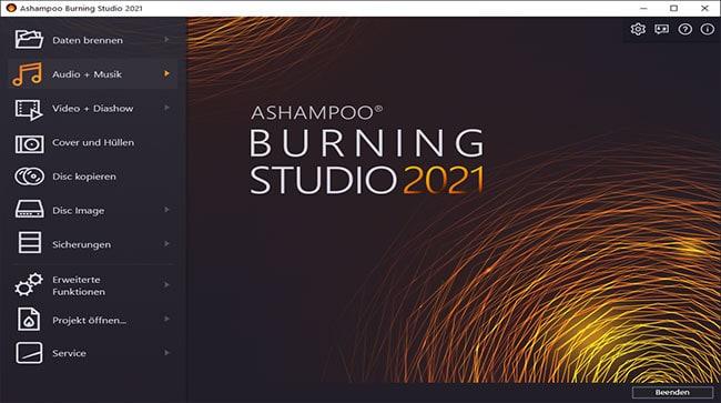 Ashamoo Burning studio 2021 kostenlose Vollversion