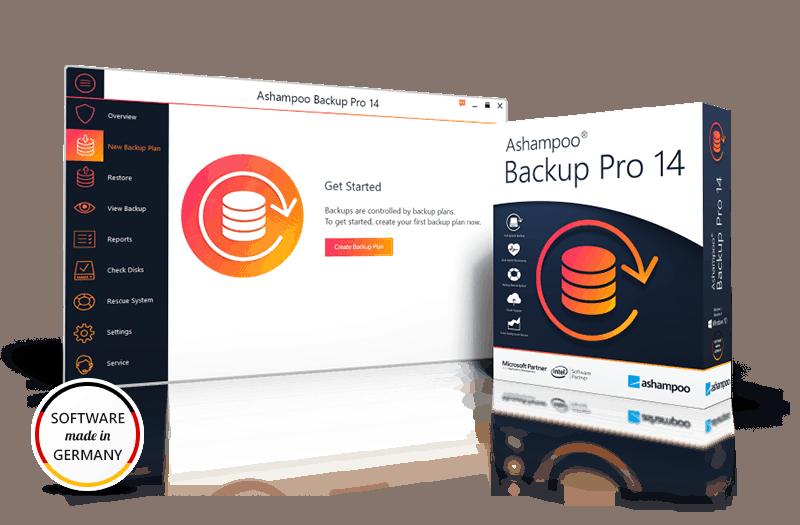 Ashampoo Backup Pro 14 gratis erhalten