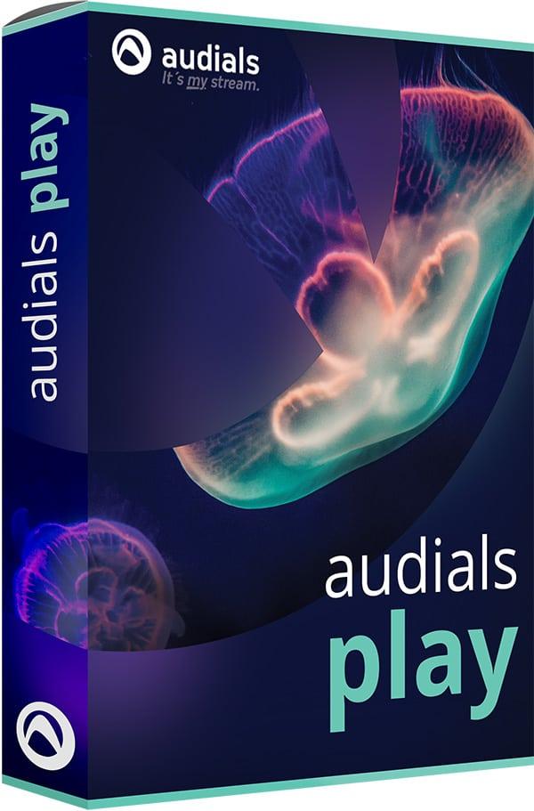 Audials Play app für unterwegs