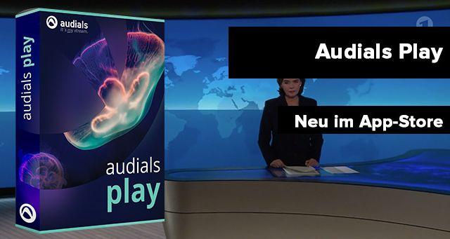 Audials Play neu im Appstore