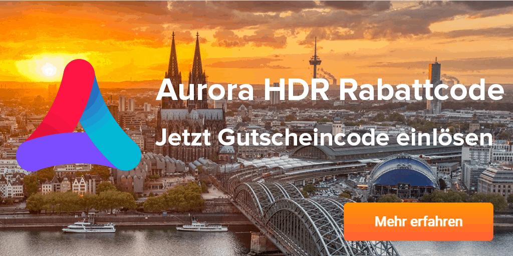 Aurora HDR Gutscheincode
