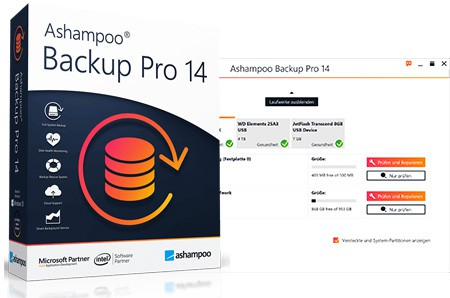 Ashampoo Backup Pro 14 umsonst runterladen