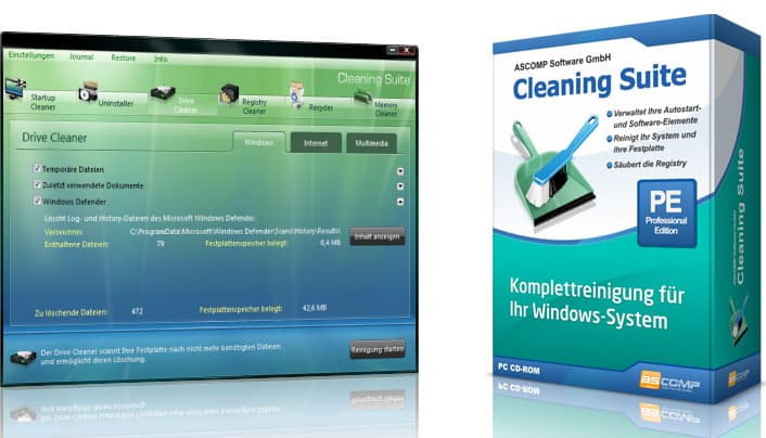 Pc Cleaning Suite 4.0 gewinnen
