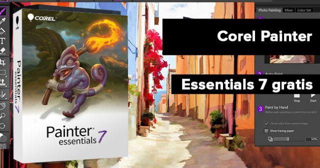 Corel painter essentials 7 gratis Vollversion