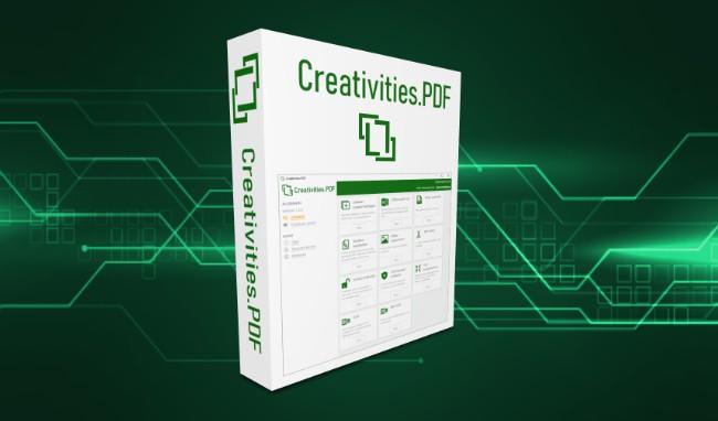 Creativities.PDF Vollversion: Verlosung von kostenlosen Lizenzen