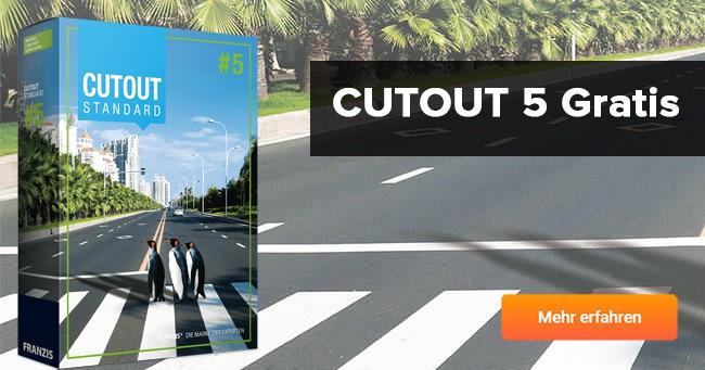 Cutout 5 gratis erhalten