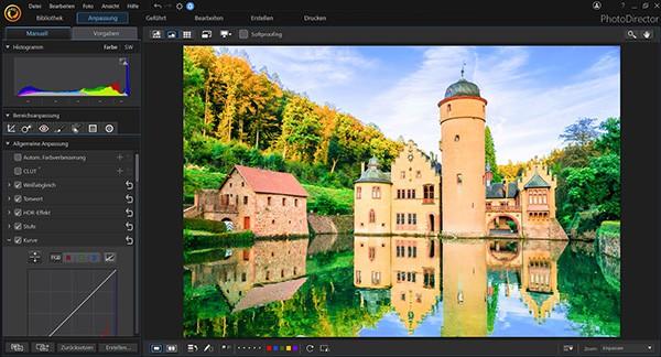 PhotoDirector umsonst erhalten: Software zur digitalen Bildbearbeitung