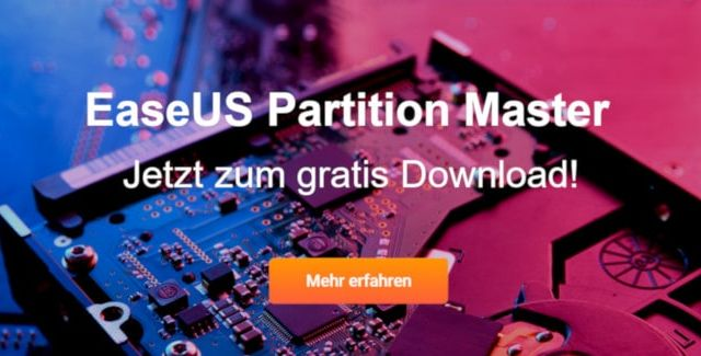 EaseUS Partition Master jetzt gratis herunterladen