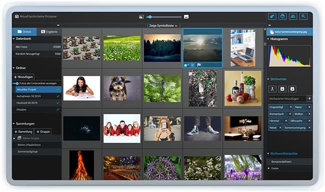 Jetzt Excire Foto für Windows und mac gratis testen