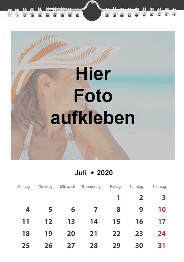 Fotokalender selbst erstellen