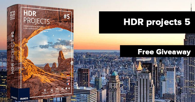 HDR projects 5 free lifetime licence