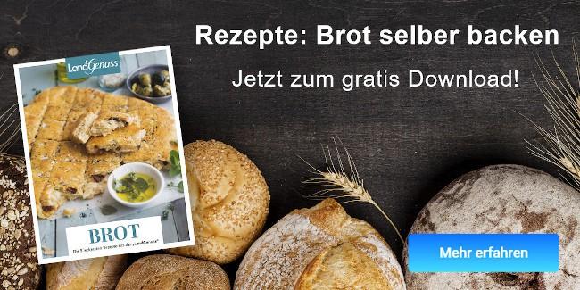 Leckere Brot-Rezepte zum gratis Download