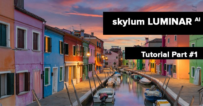 Skylum luminar AI Workshop Tutorial anleitung