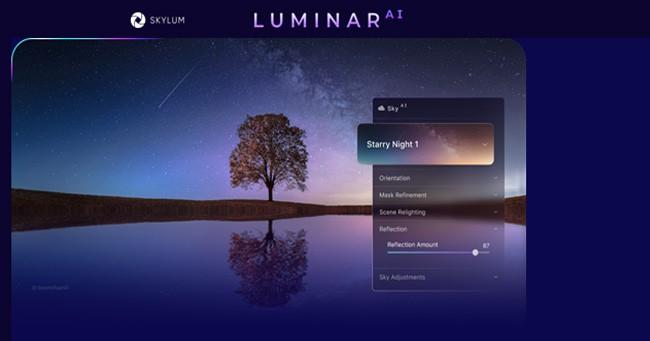 Luminar ai update 2: jetzt neu von skylum