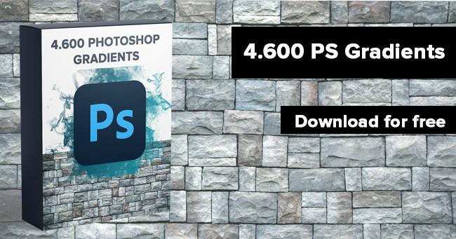 4600 free photoshop gradients