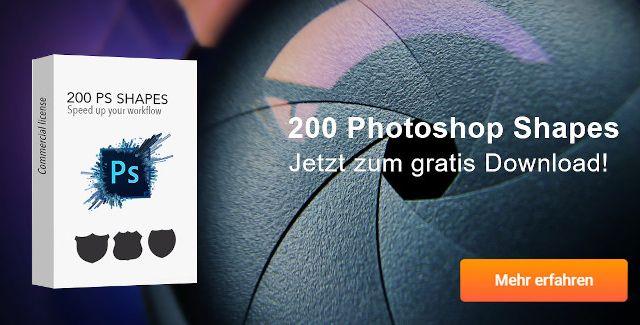 photoshop shapes kostenlos runterladen