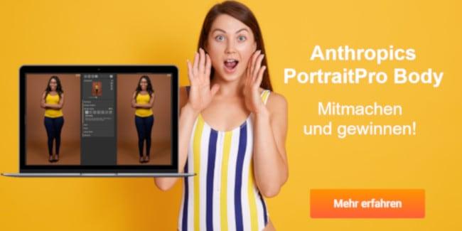 PortraitPro Body - jetzt mitmachen und gewinnen!