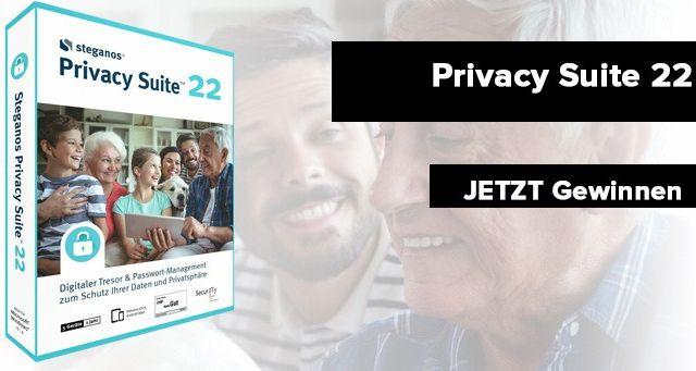 Steganos privacy suite 22 Gewinnspiel
