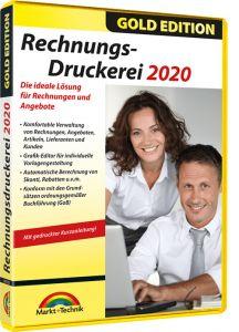 Rechnungsdruckerei 2020 Gold Edition gratis sichern