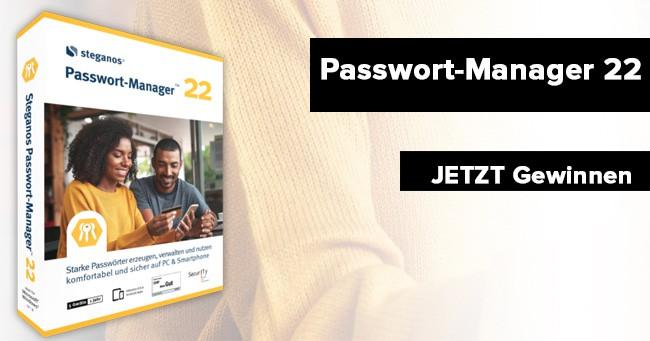 Steganos Passwort Manager 22 verlosung