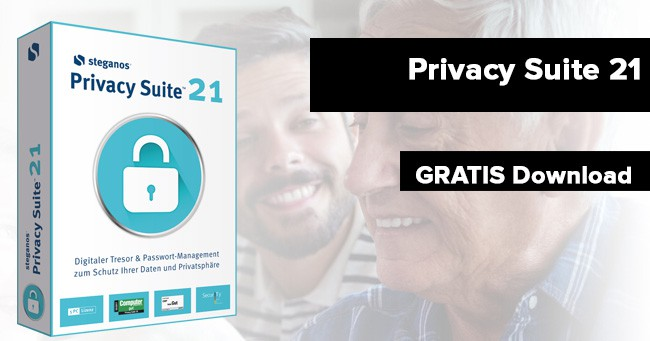 Steganos Privacy Suite 21 kostenlos erhalten