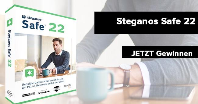 Steganos Safe 22 gewinnen