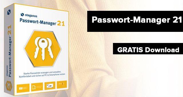 Steganos Passwort Manager 21 kostenlos runterladen