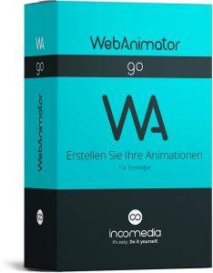Webanimator Go von Incomedia: hre Lieblingsinhalte in ständiger Bewegung. Let's GO!