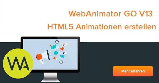 WebAnimator Go - jetzt kostenlose Vollversion sichern
