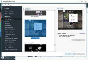 WebSite X5 Start 17 Die Desktop-Software für Ihre allererste Homepage.