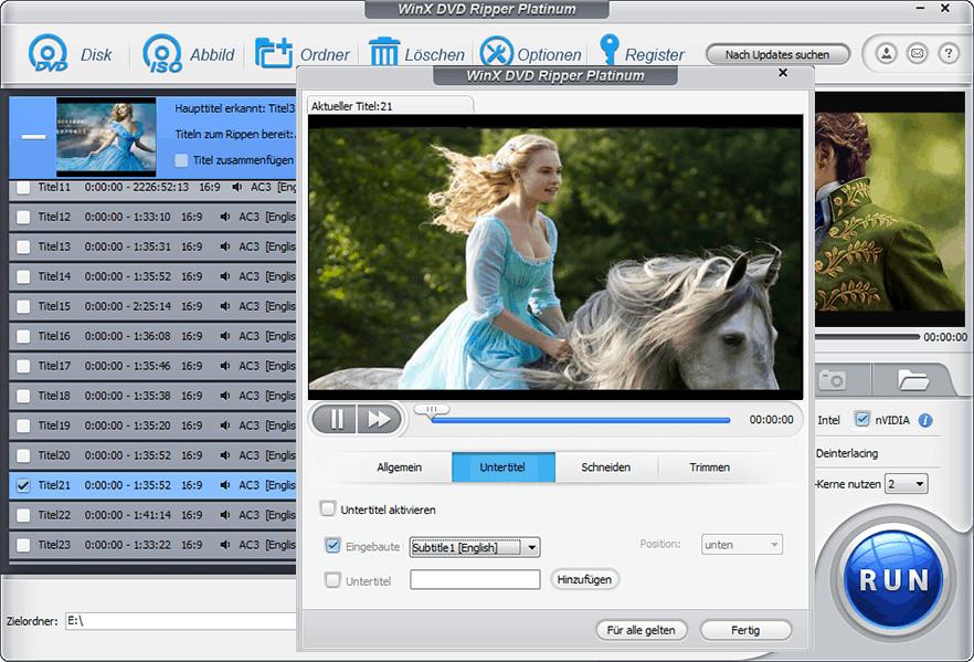 WinX DVD Ripper Platinum aktuelle Vollversion geschenkt